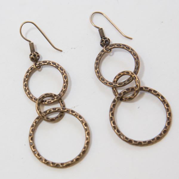 Bronze Links Earrings